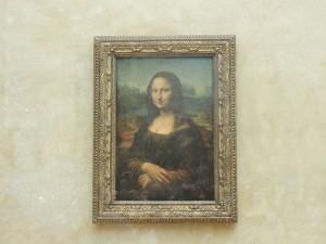 """A """"pequena"""" Mona Lisa"""