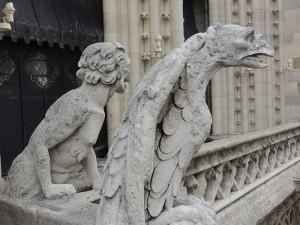 Gárgulas da Notre Dame